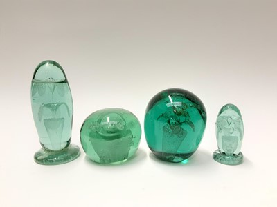 Lot 167 - Four various Victorian Glass Paperweights (4)