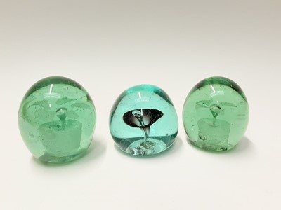 Lot 178 - Three various Victorian Glass Paperweights (3)