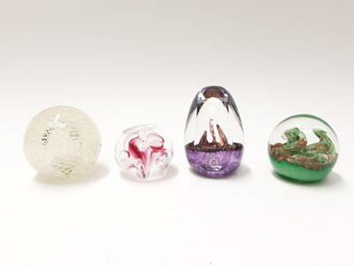 Lot 175 - Four various Teign Valley Glass Paperweights (4)
