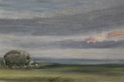 Lot 127 - Arthur James Stark oil on board landscape