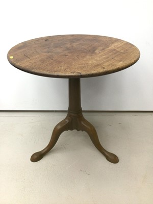 Lot 11 - Good early George III mahogany tripod table