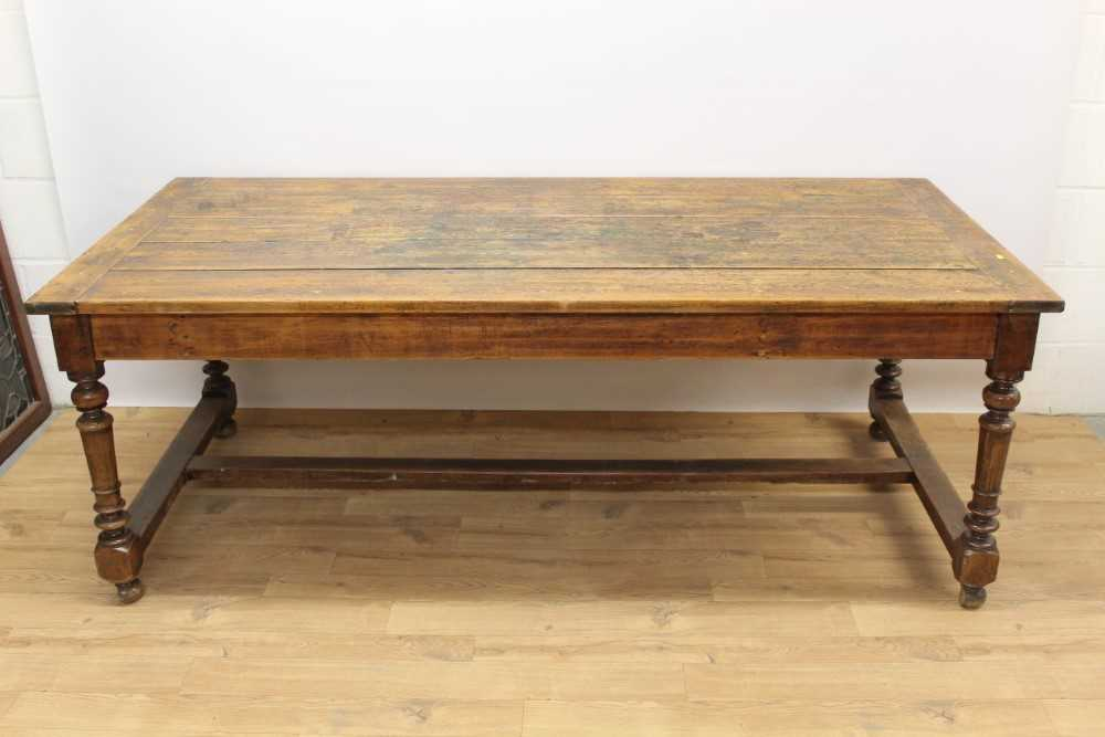 Lot 1369 - 18th/19th century French farmhouse table