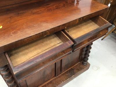 Lot 94 - Early Victorian mahogany chiffonier