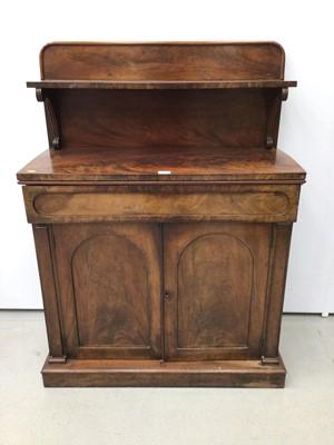 Lot 113 - Early Victorian mahogany chiffonier