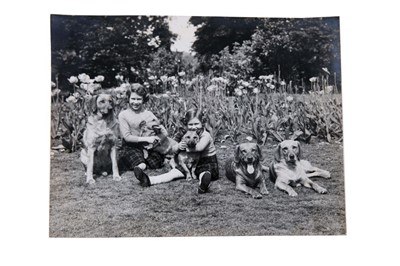Lot 59 - Collection of 1930s-40s Royal black and white photographs