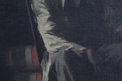 Lot 1190 - *Sir James Gunn (1893-1964) oil on board