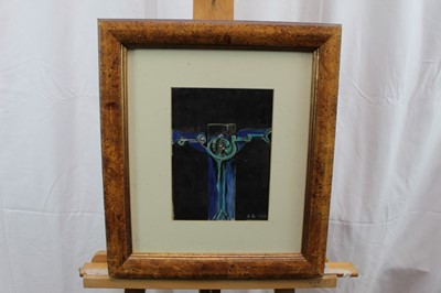 Lot 38 - Manner of Graham Sutherland watercolour and bodycolour