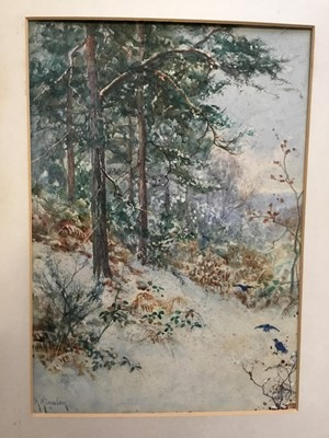 Lot 149 - Albert Kinsley (1852-1945), three watercolours landscapes