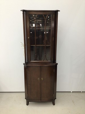 Lot 99 - Two height corner cabinet