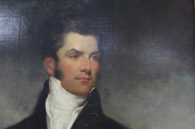 Lot 1085 - Manner of Sir Thomas Lawrence, portrait of Cheseldon Henson of Bainton House