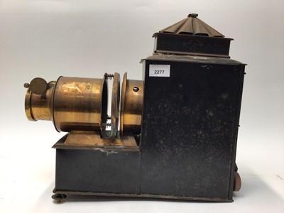 Lot 2277 - Victorian magic lantern