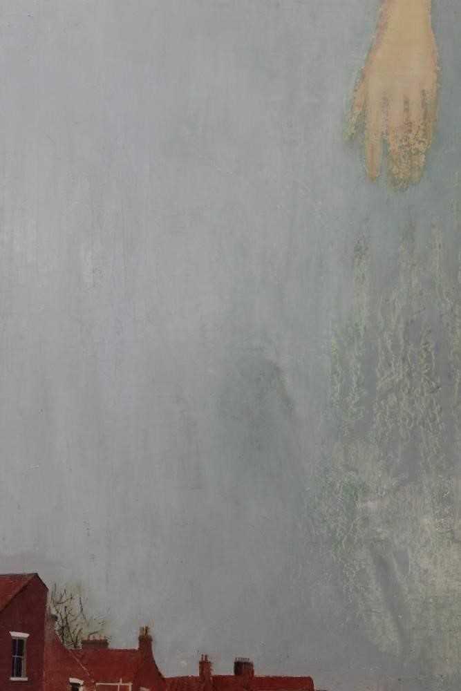 Lot 85 - Pat Jourdan (Contemporary) oil on board, Oyster Satin Sky