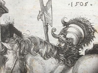 Lot 7 - After Albrecht Durer (1471-1528) engraving - The large horse