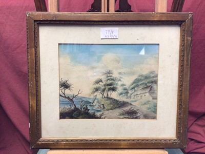 Lot 27 - Frederick Waters, late 19th century  watercolour and three other watercolours