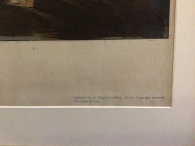 Lot 24 - Edward Ardizonne (1900-1979) vintage lithograph, Shelter scene