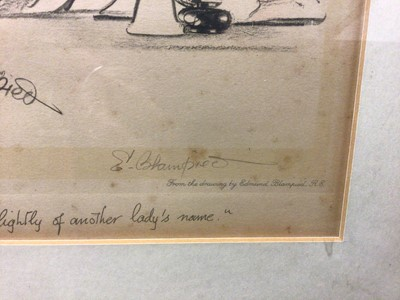 Lot 13 - Edmund Blampied lithograph, signed