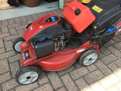 Lot 57 - Toro TX - 159 petrol lawn mower with grass box