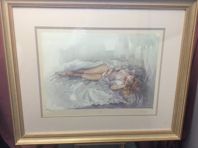 Lot 157 - Francis Boxall (20th century) 'Kerry' signed limited edition print and two similar prints