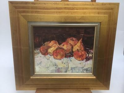 Lot 177 - Aleksandr Fedorovich Kostenko (b. 1938) oil on canvas
