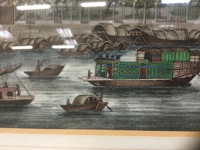 Lot 816 - Fine 19th century Chinese painting on rice paper