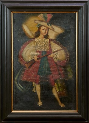 Lot 40 - Early 19th century portrait South American