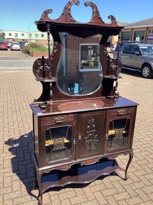 Lot 139 - Early 20th century mirror back chiffonier