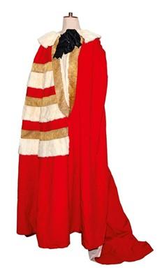 Lot 69 - The Rt. Hon. Lord Blakenham ( 1938-2018) fine Viscounts Parliamentary robe