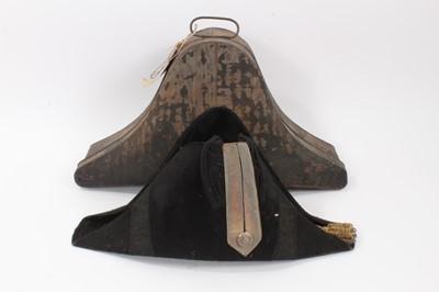 Lot 71 - The Rt Hon Earl of Listowel K.P., J.P. fine Victorian bicorn hat