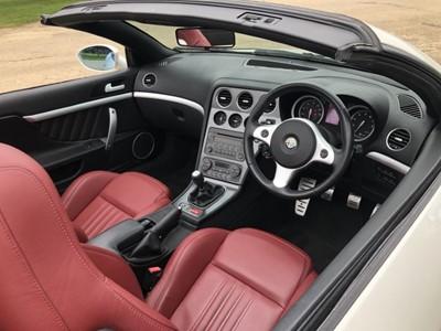 Lot 11 - 2009 Alfa Romeo Spider Convertible, 3.2 V6 JTS, manual, Reg. no. WK09 WFM