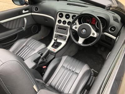 Lot 12 - 2007 Alfa Romeo Spider Convertible, 2.2 JTS, manual, reg. no. BT57 JXV f