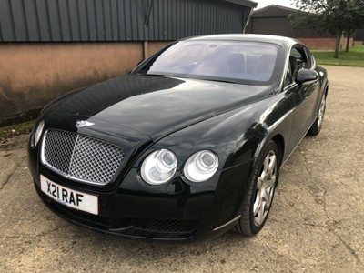 Lot 10 - 2006 Bentley Continental GT Coupe 6.0 W12, reg. no. X21 RAF