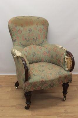 Lot 944 - Late Regency armchair