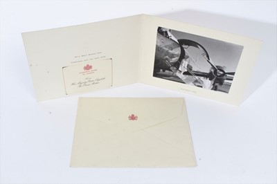 Lot 81 - Her Majesty Queen Elizabeth The Queen Mother 1966 Christmas card with photograph ofAustralia Visit 1966