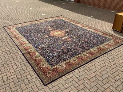 Lot 188 - Large Wilton rug on multi coloured ground, 457cm x 366cm
