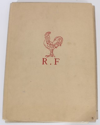 Lot 95 - The State Visit of King George VI and Queen Elizabeth to France July 1938- rare commemorative book produced by the French Government ...