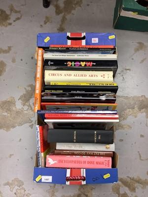 Lot 1497 - One box of various Magic Books