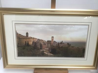 Lot 187 - Jim Chamberlain (contemporary) photographic print of Assisi
