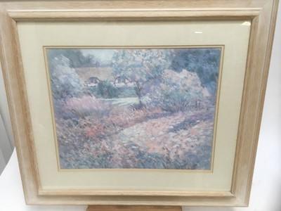 Lot 188 - Jackie Simmonds, art print 'Afternoon' framed