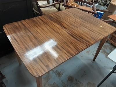 Lot 942 - Mid 20th century teak table