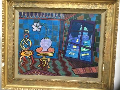 Lot 80 - Chananal Mifelew pastel blue room
