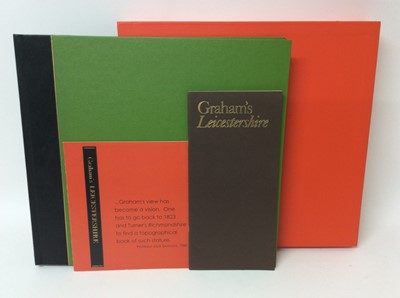 Lot 112 - Rigby Graham, Leicestershire, Sycamore Press / Gadsby Gallery, Leicester 1980, folio book in slip cover, limited edition 60/150