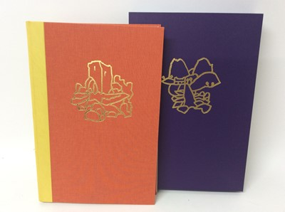 Lot 110 - Pennant and His Welsh Landscape with woodcuts by Rigby Graham by Gregynog Press 2006, limited edition in slip case