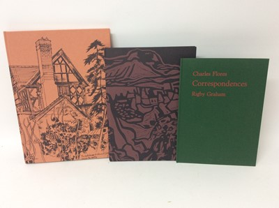 Lot 114 - Rigby Graham, three limited edition publications