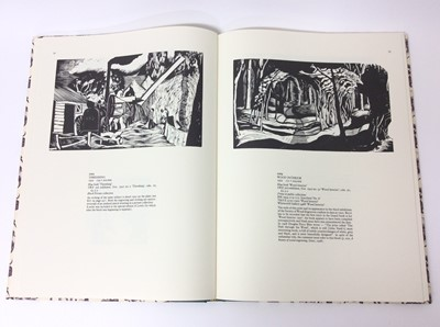 Lot 1 - The Wood Engravings of John Nash, compiled by Jeremy Greenwood. Wood Lea Press, Liverpool 1987