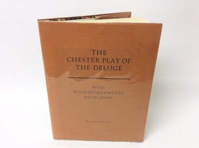 Lot 3 - The Chester Play of The Deluge, ill. David Jones, London, Clover Hill Editions, 1977, limited to 250 copies