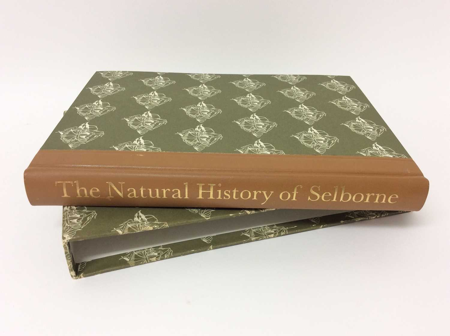 Lot 5 - The Natural History of Selborne, illustrated by John Nash