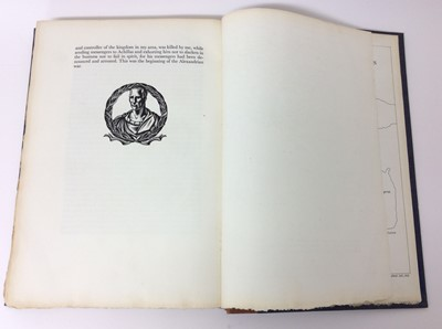 Lot 7 - Julius Ceasar's Commentaries, The Golden Cockerel Press 1951