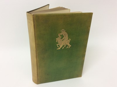 Lot 8 - Theocritos - with wood engravings by Lionel Ellis