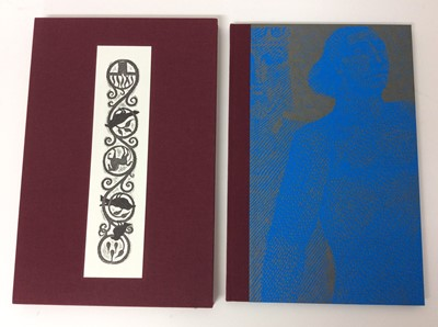 """Lot 21 - """"Faithful John"""", 1998, woodcuts by Harry Brockway, transl. Lucy Crane, number 29 of 220 copies"""