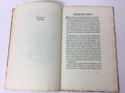 "Lot 22 - F. L. Lucas: ""Gilgamesh, King of Erech"", published Golden Cockerel Press 1948"